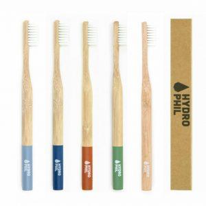 Escova de Dentes em Bambu - Hydrophil | criança e adulto